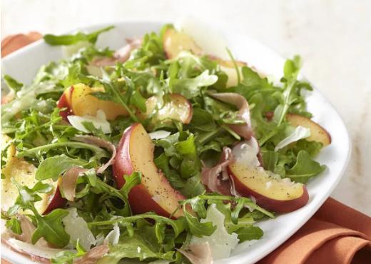 Prosciutto, Nectarine and Rocket Salad