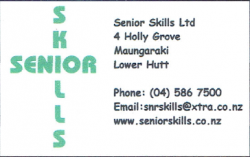 Senior Skills