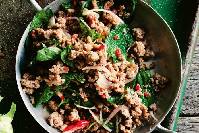 Lao/ Northern Thai Pork Larb